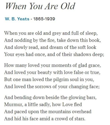 Best romantic poetry for her